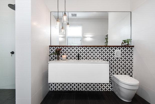 Contemporary Bathroom by National Association of Building Designers