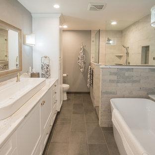 Example of a classic bathroom design in Portland