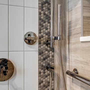 West Loop Modern Master Bathroom Remodel