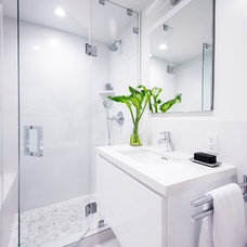 Contemporary Bathroom by Overland Remodeling & Builders