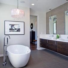 Contemporary Bathroom by C & C Partners Design/Build Firm