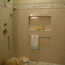 Traditional Bathroom by Marcelle Guilbeau, Interior Designer
