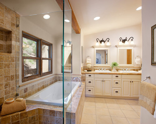L shaped bathroom home design ideas pictures remodel and decor - Pictures of bathroom designs ...