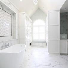 Transitional Bathroom by jg interiors