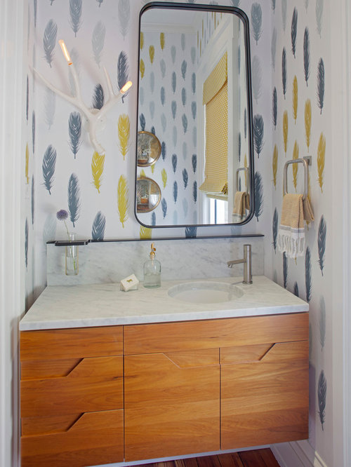 Bathroom Vanity Light Off Center off center sink vanity | houzz