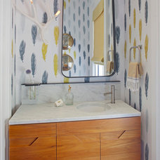 Contemporary Bathroom by Rethink Design Studio