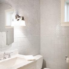 Craftsman Bathroom by Kari McIntosh Design