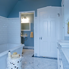 Traditional Bathroom by Potter Construction Inc