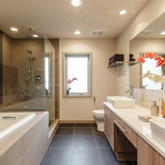 contemporary bathroom by Dale Tu Photography