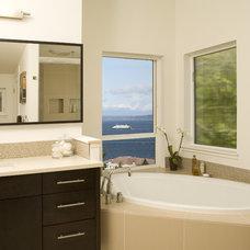 Contemporary Bathroom by NW Home Designers