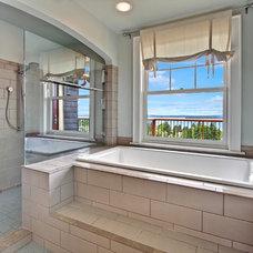 Craftsman Bathroom by Sortun-Vos Architects, P.S.