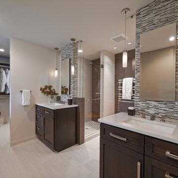 West Seattle Master Bathroom & Closet