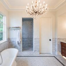 Traditional Bathroom by Ripple Design Studio, Inc.