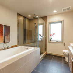 contemporary bathroom by RD Construction