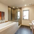 Zen Ensuite - Contemporary - Bathroom - Toronto - by BiglarKinyan Design Planning Inc.