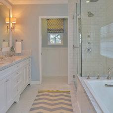 Traditional Bathroom by M.A.D. Megan Arquette Design