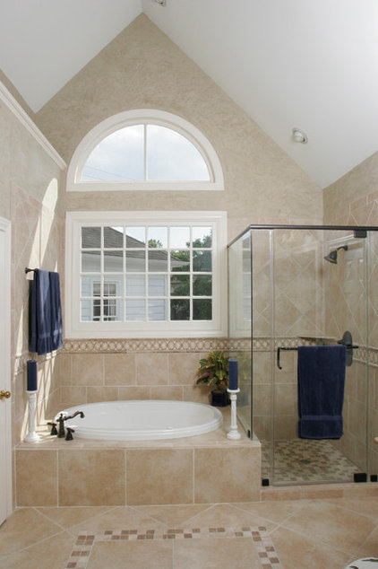 Traditional Bathroom by Beverly Vosko Interiors and Remodeling
