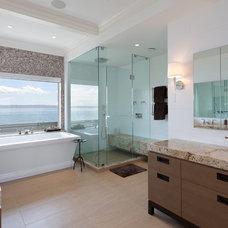 Contemporary Bathroom by John McSkimming Construction Ltd
