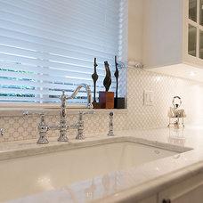 Traditional Bathroom by Anne Boa Interior Design