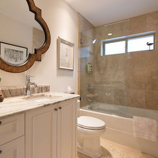 Traditional Bathroom by Anne Boa Interior Design