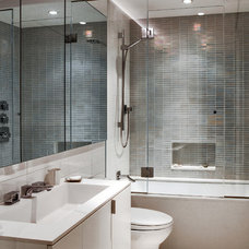 Modern Bathroom by moment design + productions, llc