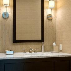 Contemporary Bathroom by Alexander Johnson Photography