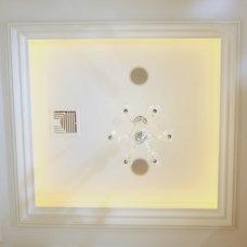 Traditional Bathroom by Daniel Contelmo Architects