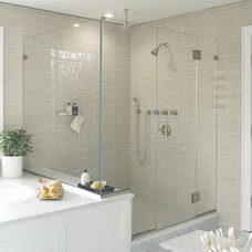Transitional Bathroom by Murphy Brothers Contracting