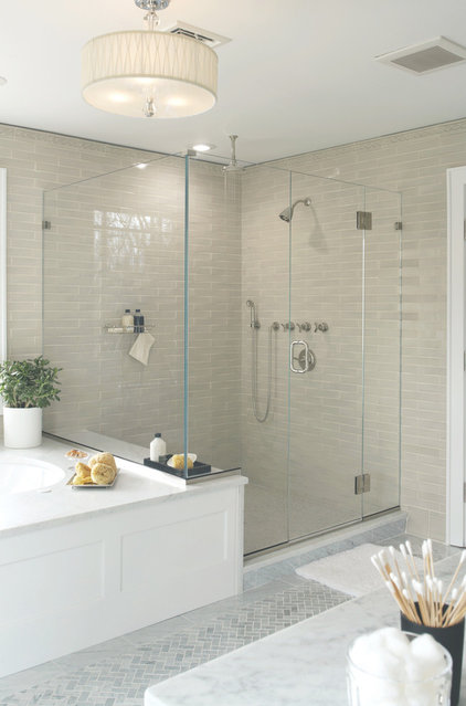 contemporary bathroom by Murphy Brothers Contracting