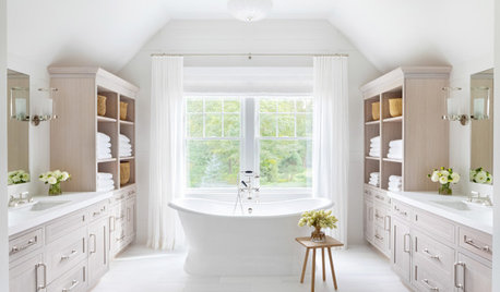 8 Ways to Use White in the Bathroom