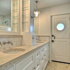 Craftsman Bathroom by Dwellings Design Group