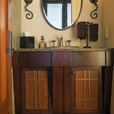Traditional Bathroom by HBF plus Design