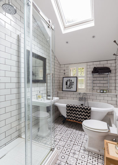 Traditional Bathroom by NK Living