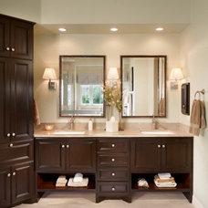 Traditional Bathroom by Kimball Bonamici Designs