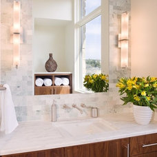 Traditional Bathroom by LaRue Architects
