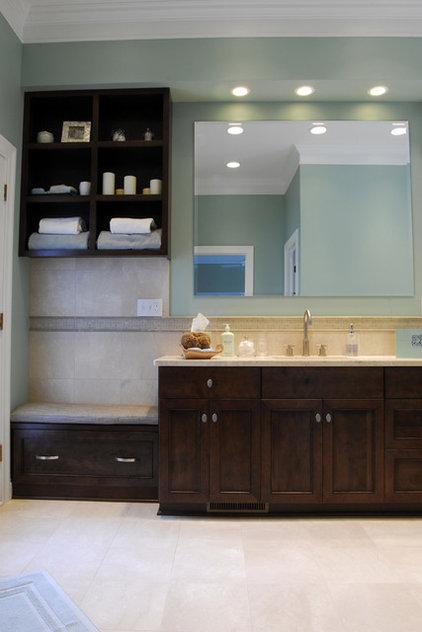 Contemporary Bathroom by Matteucci Interiors