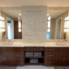 Modern Bathroom by Butter Lutz Interiors, LLC