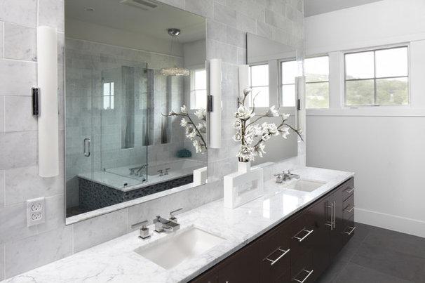 Contemporary Bathroom by Tracy Miller/Miller Greene Design Studio
