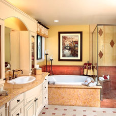 Eclectic Bathroom by JAG Interiors, Inc.