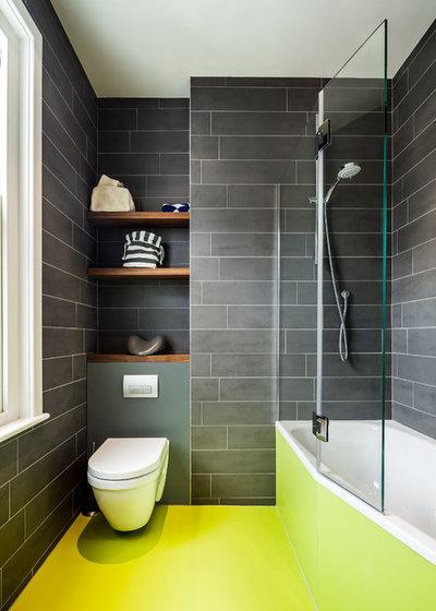 Contemporáneo Cuarto de baño by uvarchitects