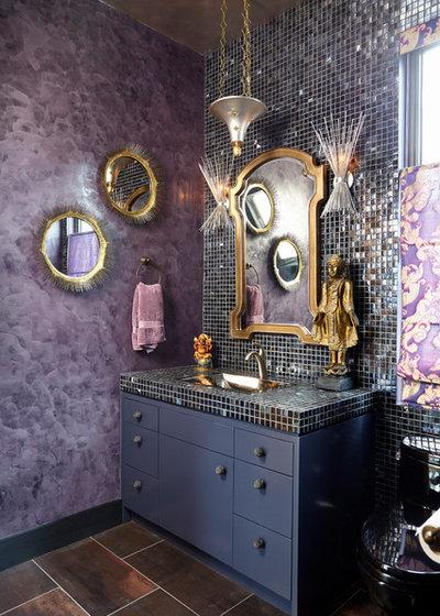 Eclettico Stanza da Bagno by Heidi Holzer Design & Decorative Work