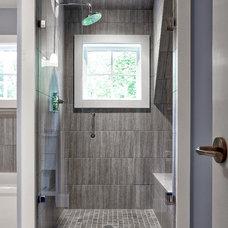 Traditional Bathroom by DeRosa Builders LLC