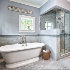 Traditional Bathroom by DeRosa Builders LLC