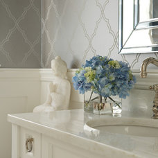 Transitional Bathroom by Susan Glick Interiors