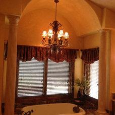 Mediterranean Bathroom by Lighting Etc.