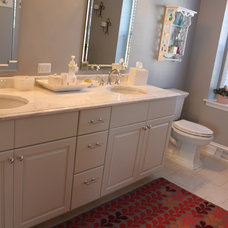 Traditional Bathroom by Mary Best Designs