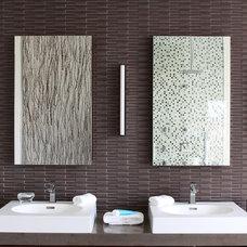 Modern Bathroom by Saniee Architects llc
