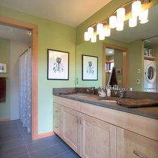 Contemporary Bathroom by FabCab