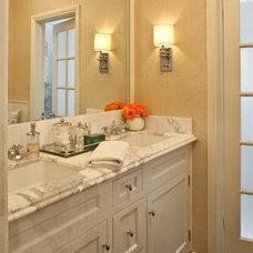 Transitional Bathroom by Jeneration Interiors
