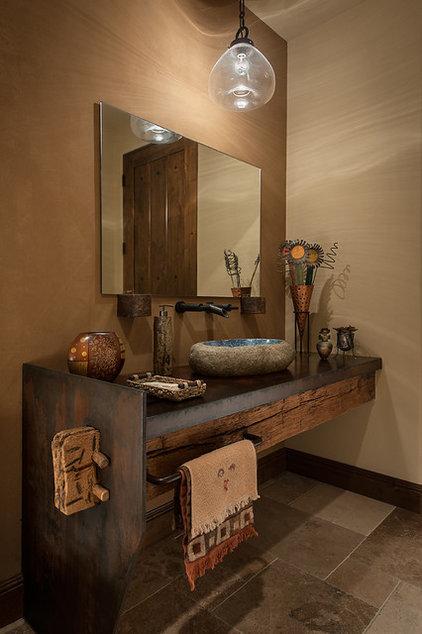Mediterranean Bathroom by Tate Studio Architects